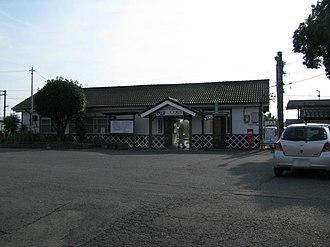 Yanagimoto Station - The station building