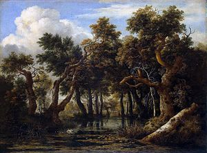 A Wooded Marsh - Image: Jacob Isaaksz. van Ruisdael 015