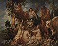 Jacob Jordaens - Achelous Defeated by Hercules. The Origin of the Cornucopia. (Allegory of Fruitfulness) - KMSsp233 - Statens Museum for Kunst.jpg