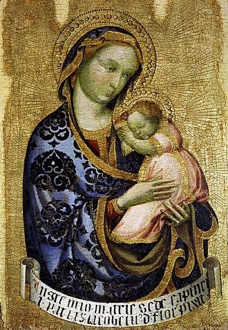 Jacobello del Fiore - Jacobello Del Fiore's Virgin and Child, ca. 1410, Museo Correr