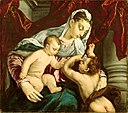 Jacopo Bassano - Virgin and Child with the Young Saint John the Baptist - 1968.320 - Art Institute of Chicago.jpg