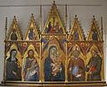 Jacopo di mino del pellicciaio, madonna col bambino e santi.JPG