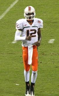 Jacory Harris American football quarterback