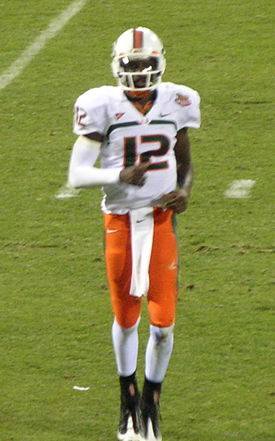 Jacory Harris at 2008 Emerald Bowl.JPG