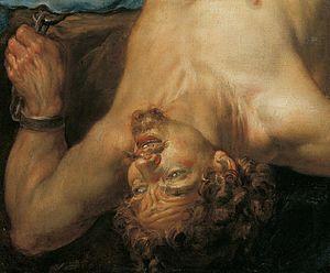 Jacques de l'Ange - Chained Prometheus