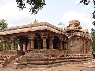 Rashtrakuta dynasty - Jain Narayana temple at Pattadakal, Karnataka