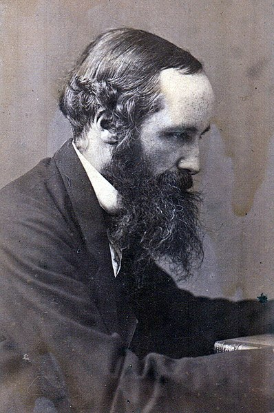 File:James Clerk Maxwell profile.jpg