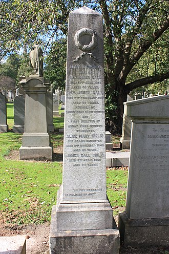 James Gall - James Gall's grave, Grange Cemetery