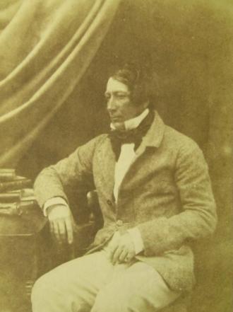 1860 Open Championship - Image: James Ogilvie Fairlie 1840s salt paper (calotype)