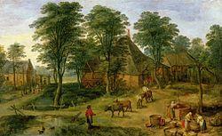 Jan Brueghel the Younger: Farmyard