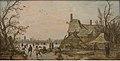 Jan Josefsz van Goyen - Winter Scene at a Farm - KMS1537 - Statens Museum for Kunst.jpg