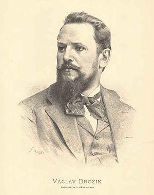 Václav Brožík - Václav Brožík, by Jan Vilímek