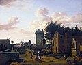 Jan van der Heyden - An Imaginary Town Gate with a Triumphal Arch.jpg