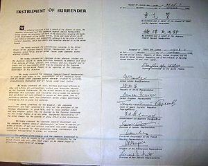 Japanese Instrument of Surrender Document Taipei PresidentialOffice.jpg