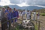 Japanese visitors pray for peace on solemn day DVIDS348424.jpg