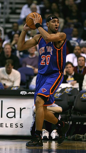 Jared Jeffries - Jeffries during his first tenure with the Knicks