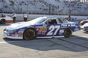 Jason Keller - Keller's 2009 No. 27 Nationwide car