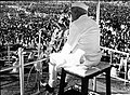 Jawaharlal Nehru addressing a gathering at Warangal.jpg