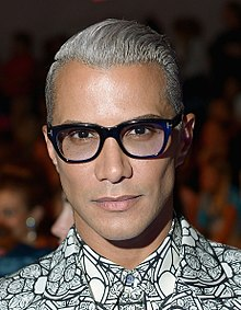 Jay Manuel at Custo Barcelona - Front Row - Mercedes-Benz Fashion Week Spring 2014.jpg