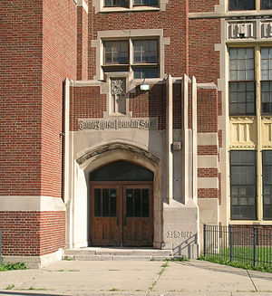 Jefferson Intermediate School - Entrance to Jefferson Intermediate School