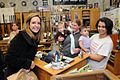 Jeri with families at the gun shop (2148594119).jpg
