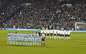 History of Fulham F.C. - A minute's silence for Jim Langley
