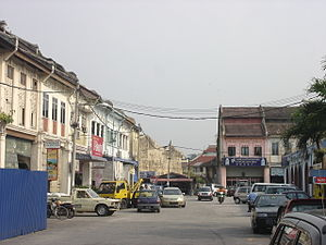 Gopeng - The town centre of Gopeng