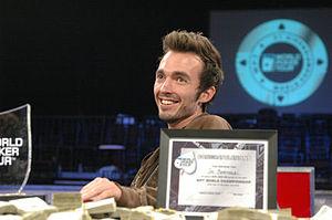 Joe Bartholdi Jr. - Bartholdi after winning 2006 World Poker Tour Five Star tournament