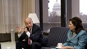 Vice President Joe Biden and Secretary of Labo...