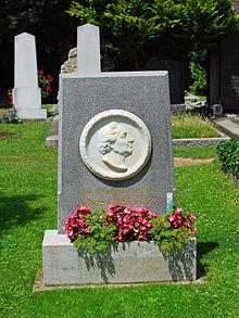 Heinrich Anschütz Grabstätte (Quelle: Wikimedia)