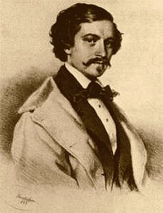 Johann Strauss II - Johann Strauss in his younger years