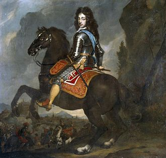 Johannes Voorhout - William III of England on horseback.