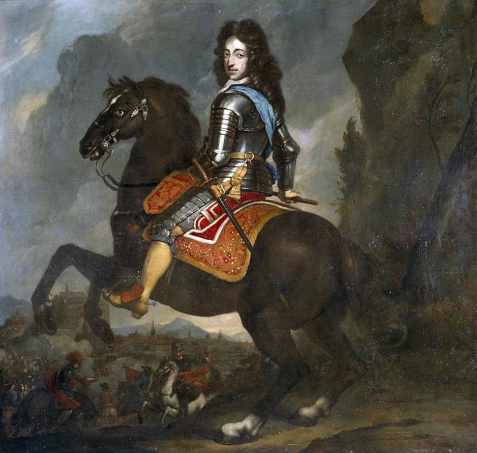 Johannes Voorhout - Willem III te paard -1670-2