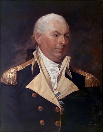 USS United States (1797) - Portrait of John Barry c. 1801
