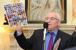 John Bird, founder of The Big Issue, at the launch of the Big Society Network.jpg