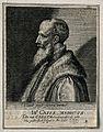 John Caius. Line engraving by S. van der Passe, 1620. Wellcome V0000953.jpg