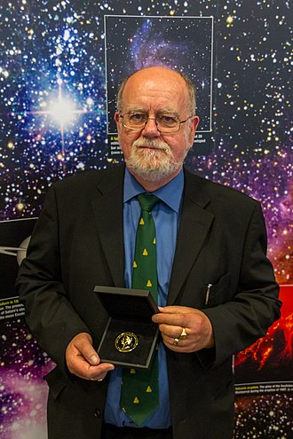 John Campbell Brown - John Brown receiving the Gold Medal of the Royal Astronomical Society