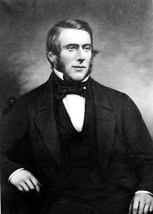 John Deans (pioneer) - Portrait of John Deans