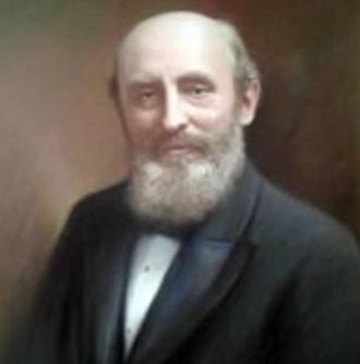 John Holt (businessman) - An oil painting of John Holt by John A. A. Berrie