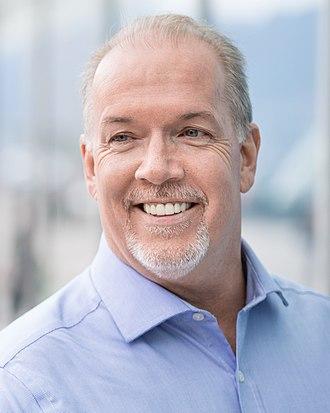 Premier of British Columbia - Image: John Horgan 2015
