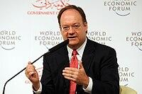 John J. DeGioia at the World Economic Forum Summit on the Global Agenda 2008.jpg