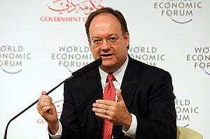 John J. DeGioia - DeGioia speaking at the World Economic Forum Summit on the Global Agenda 2008.