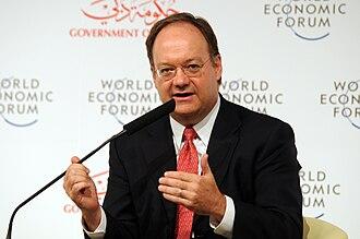 John J. DeGioia - DeGioia speaking at the World Economic Forum Summit on the Global Agenda 2008.