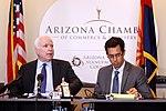 John McCain & Glenn Hamer (9508188066).jpg