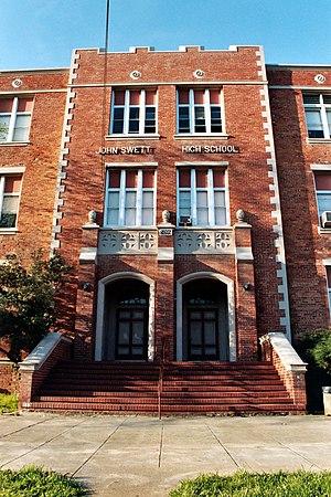 Crockett, California - Main Entrance of John Swett High School in 2004