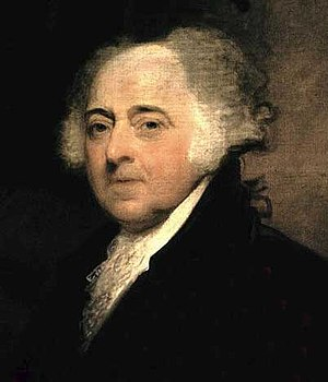 John Adams, the first Vice President of the Un...