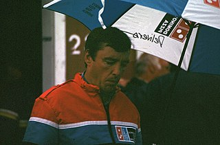 Johnny Rutherford American racecar driver