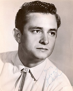Johnny Cash albums discography - Image: Johnny Cash Promotional Photo