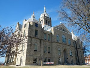 Warrensburg, Missouri - Johnson County Courthouse