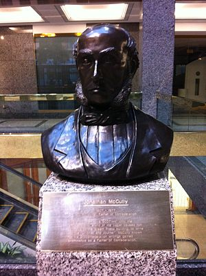 Jonathan McCully - Jonathan McCully By Peter Bustin, Founders Square, Halifax, Nova Scotia.